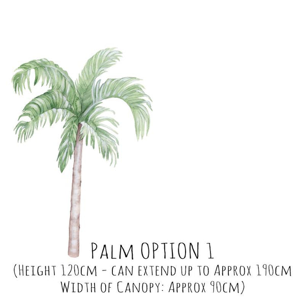 Large Palm Tree Wall Decals *PRE ORDER