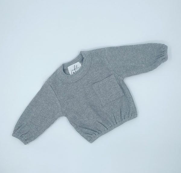 Basic Pocket Pullover