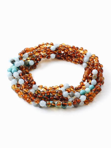 AMBER NECKLACE - RAIN