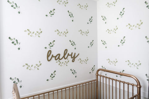 Green Leaf Foliage Wall Decals *PRE ORDER