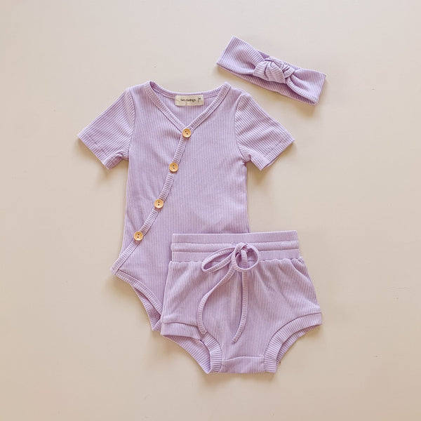 Short Sleeve Bodysuits (Various Colours)