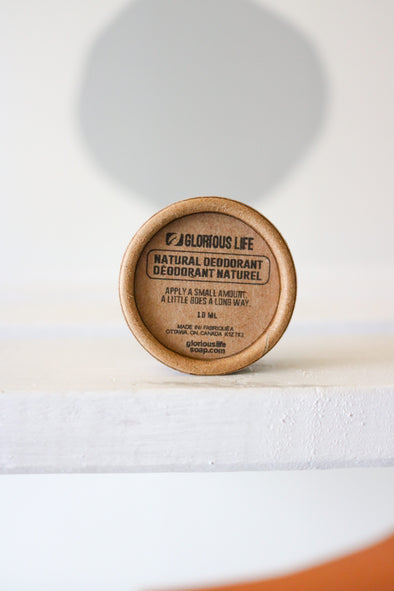 Glorious Life - Low Waste Natural Deodorant