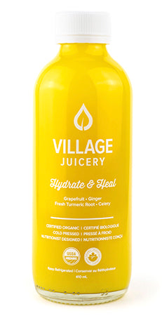 Hydrate & Heal -Grapefruit, Ginger, Fresh Turmeric Root, Celery // 410ml
