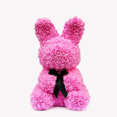 Pink Rose Bunny