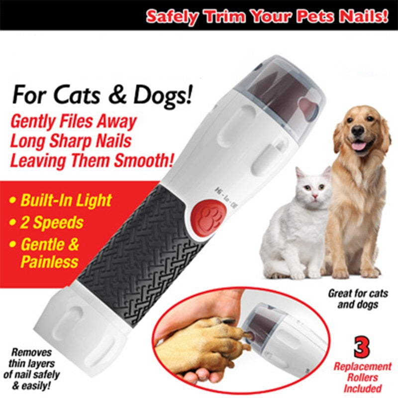 Friendly Claws™ Electric Nail Trimmer