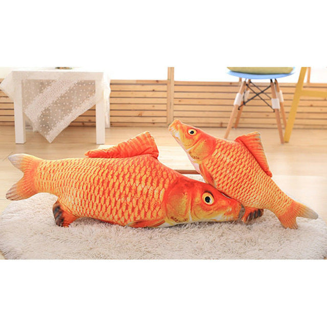 Nipsy - Soft Fish Toy for Cats