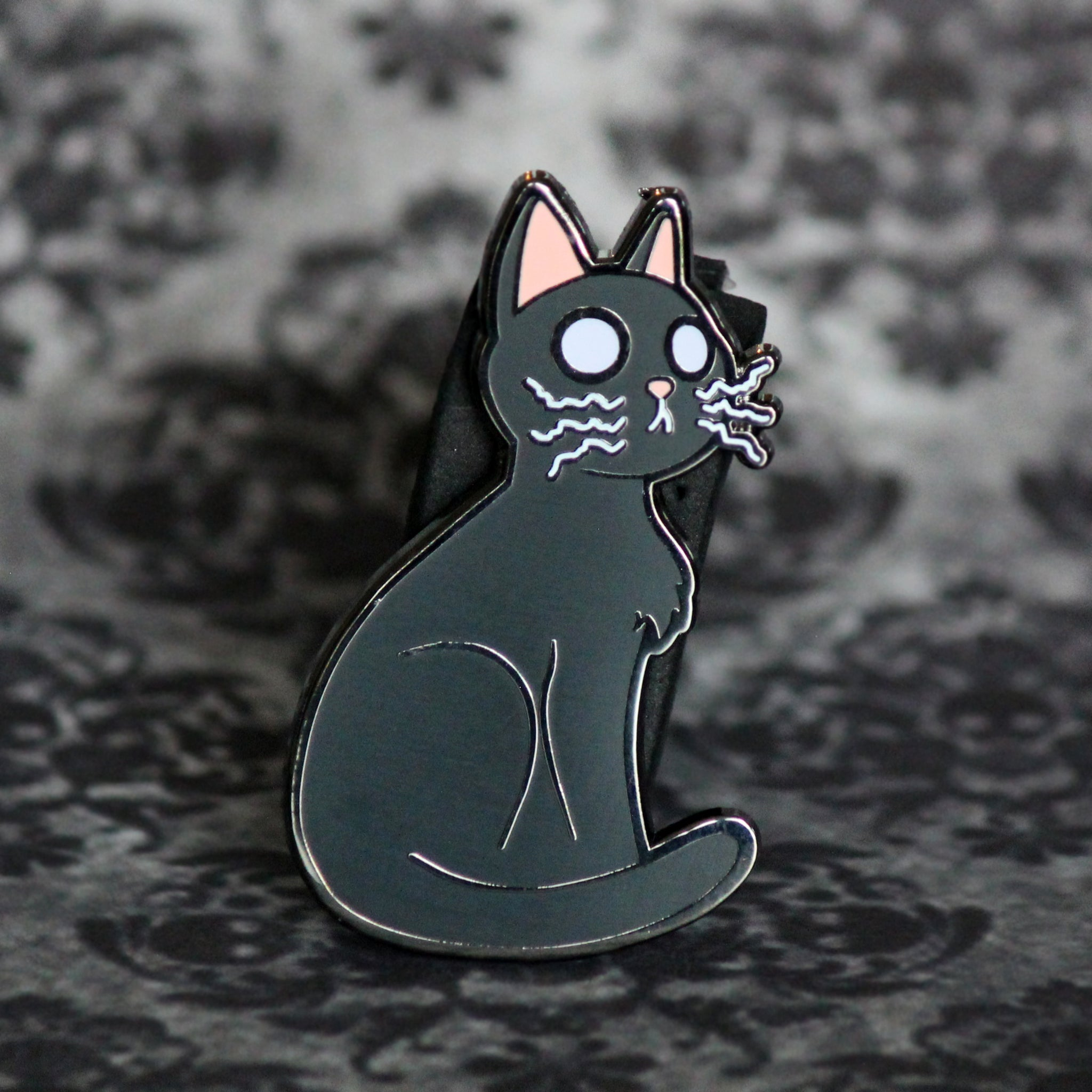 "2"" Hard Enamel Pin Cerin the Spirit Catcher with Glow in the Dark Eyes"