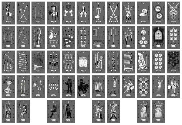 Creepy Tarot (Full 78 Card Deck) - ARRIVING MARCH 2021!