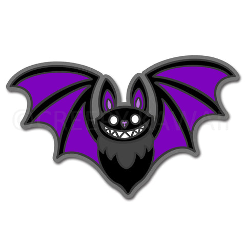 Bat - 3 Inch Weatherproof Vinyl Sticker
