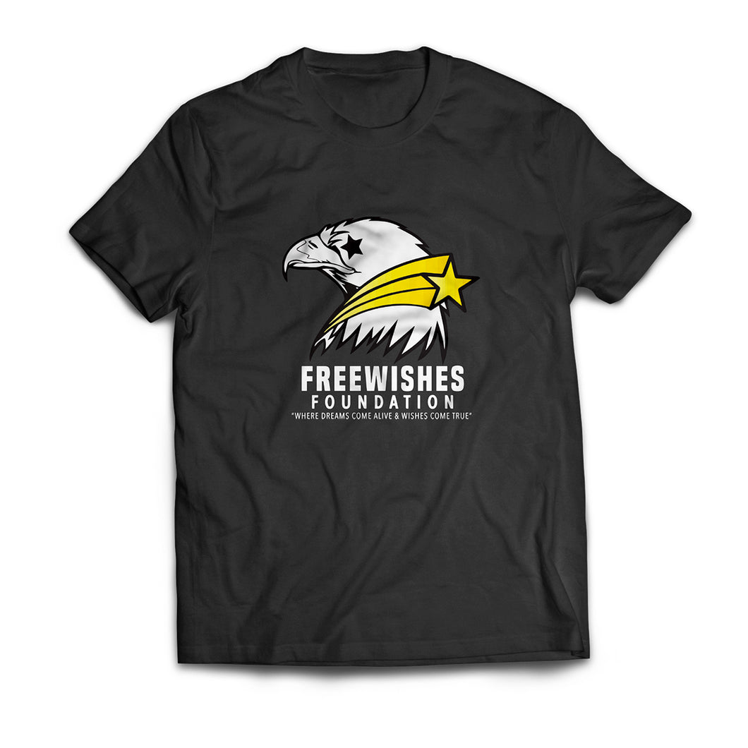 Freewishes Black Tee