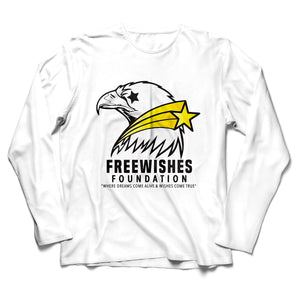 FreeWishes L/S Tee White (YOUTH)