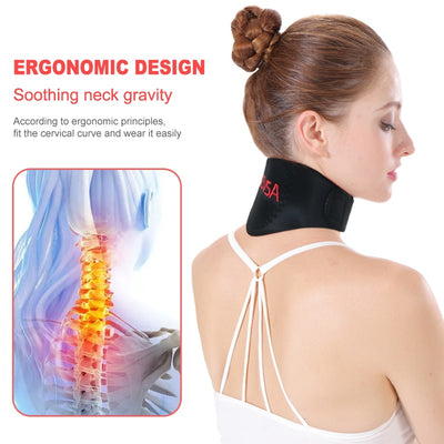 Self-heating Tourmaline Neck Magnetic Therapy