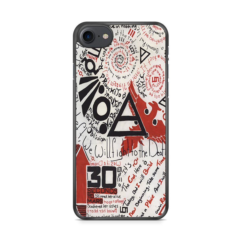 30 Seconds To Mars iPhone 7 Case