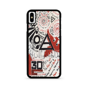 30 Seconds To Mars iPhone XS Max Case