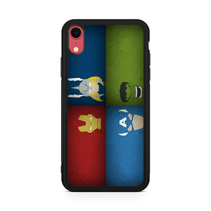 4 Avengers iPhone XR Case