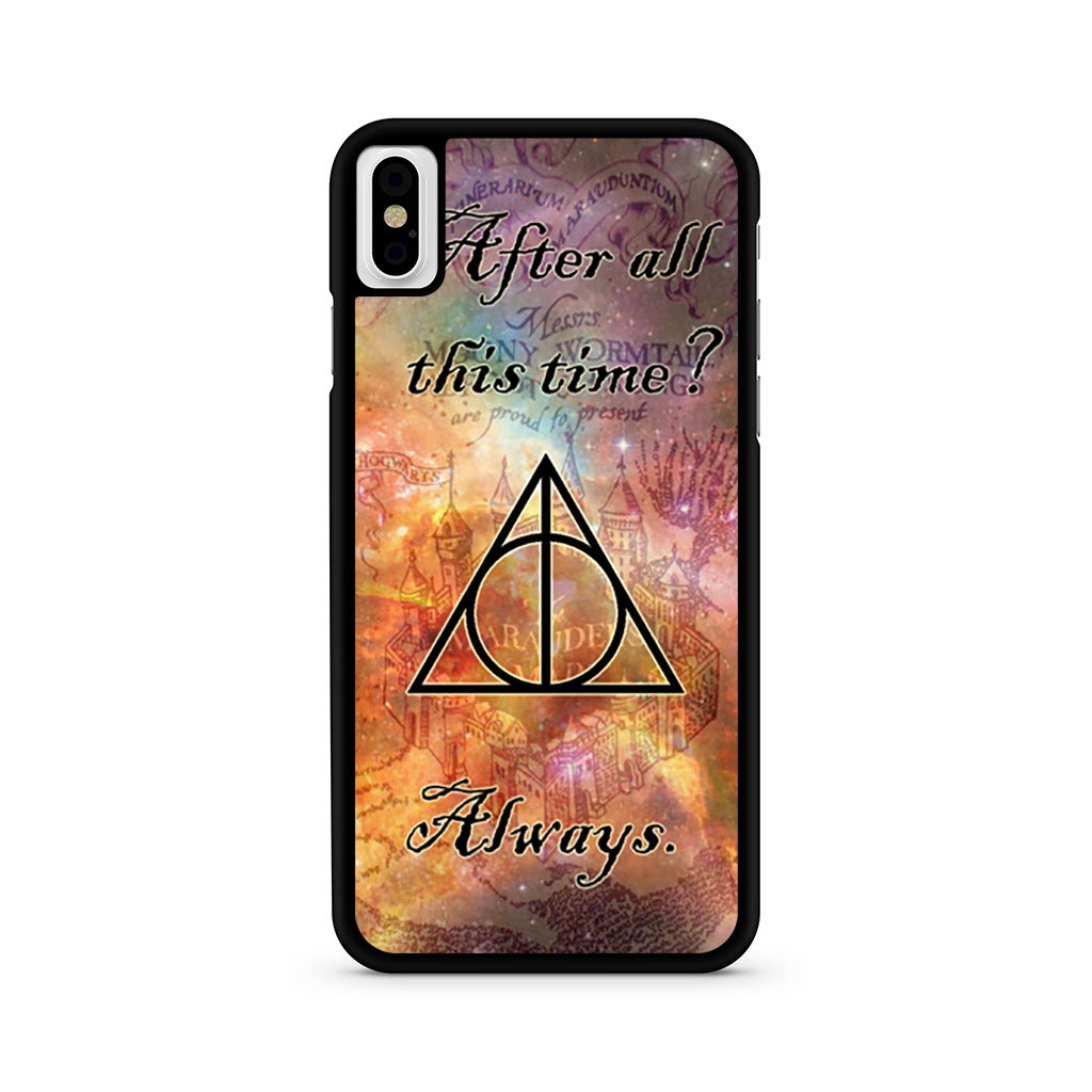 After All This Time Always Harry Potter iPhone XS Max Case