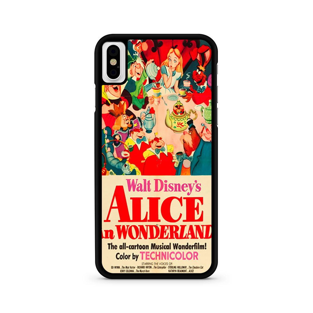 Alice In Wonderland iPhone X Case
