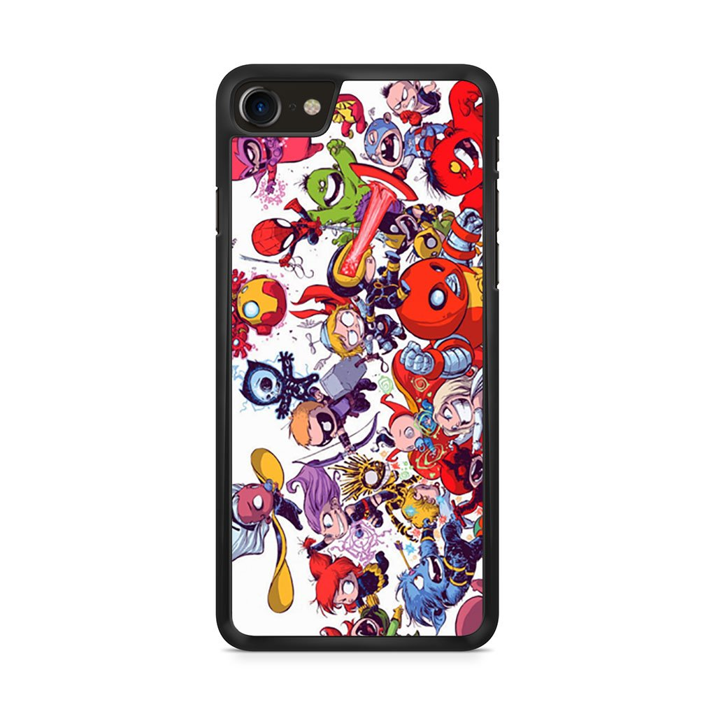 All Marvel Heroes iPhone 8 Case