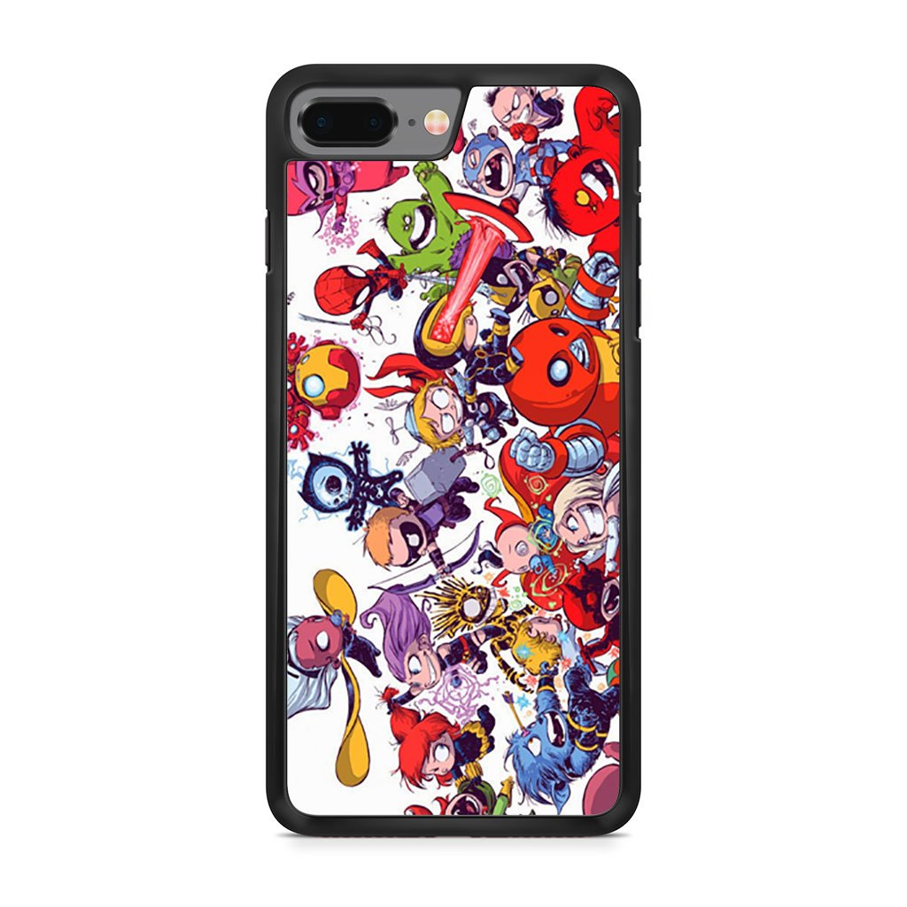 All Marvel Heroes iPhone 8 Plus Case