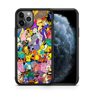 All Pokemon Characters iPhone 11 Pro Max Case