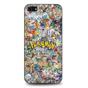 All Pokemon Characters iPhone 5 Case
