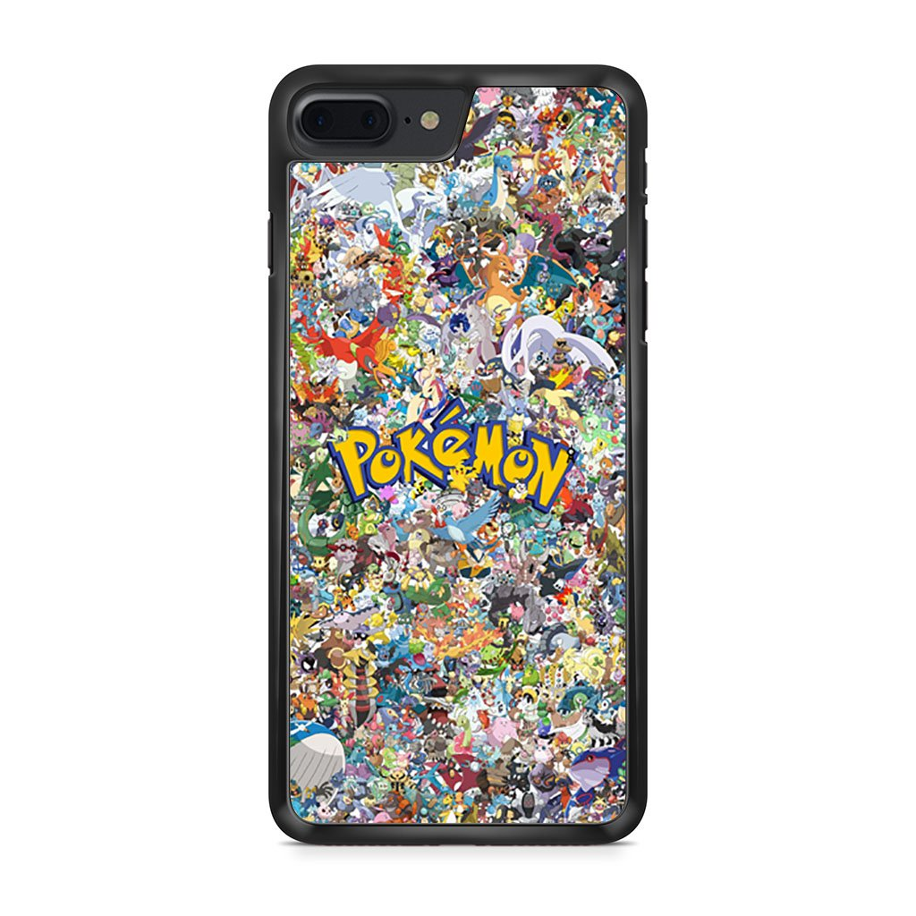 All Pokemon Characters iPhone 7 Plus Case
