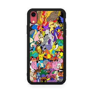 All Pokemon Characters iPhone XR Case
