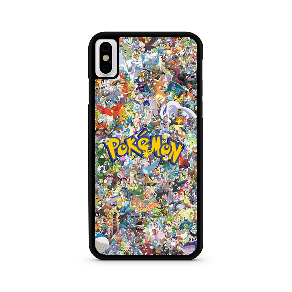 All Pokemon Characters iPhone XS Case