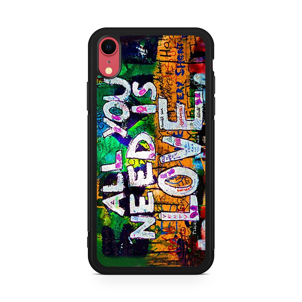 All You need is love iPhone XR Case