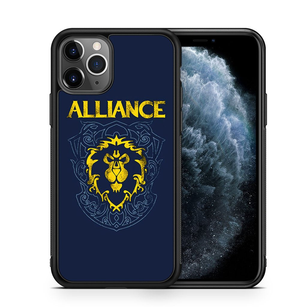 Alliance World Of Warcraft iPhone 11 Pro Max Case