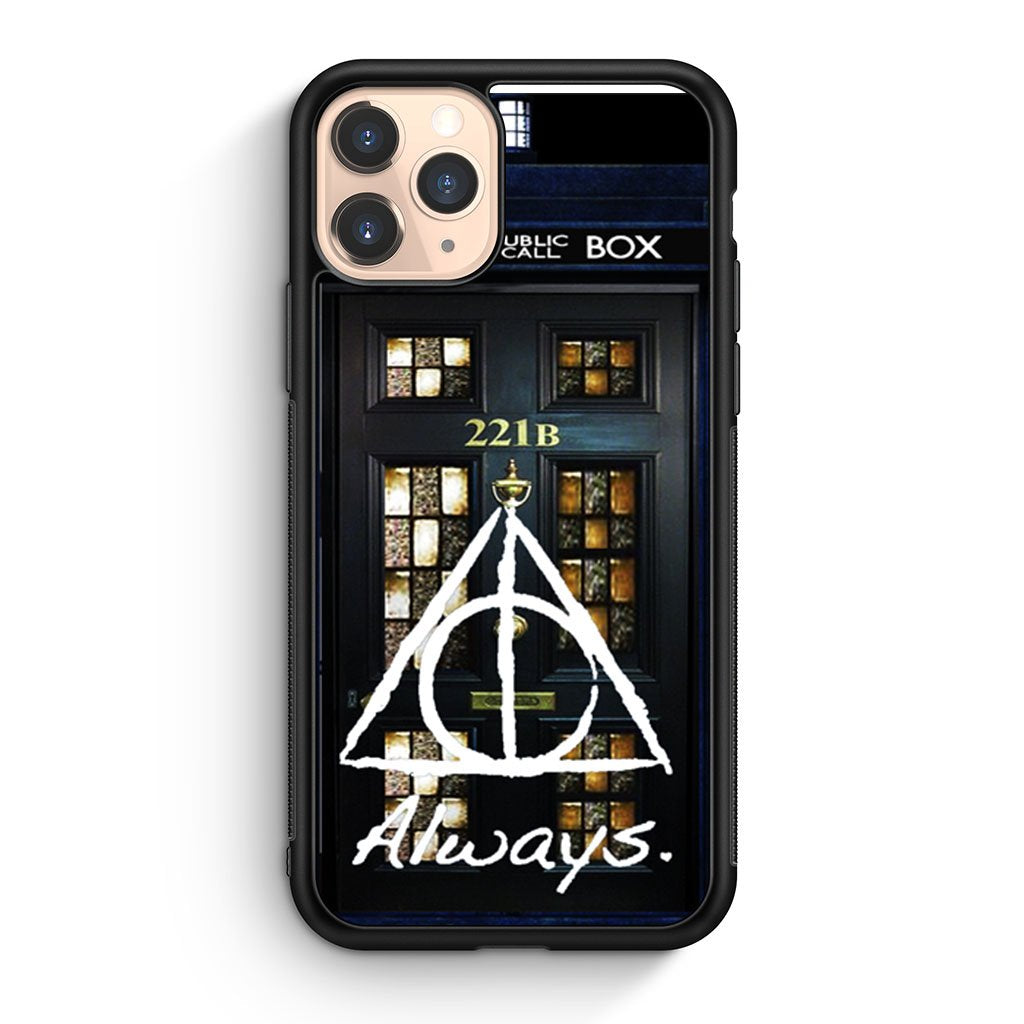 Always Harry Potter Doctor Who Sherlock Holmes iPhone 11 Pro Case