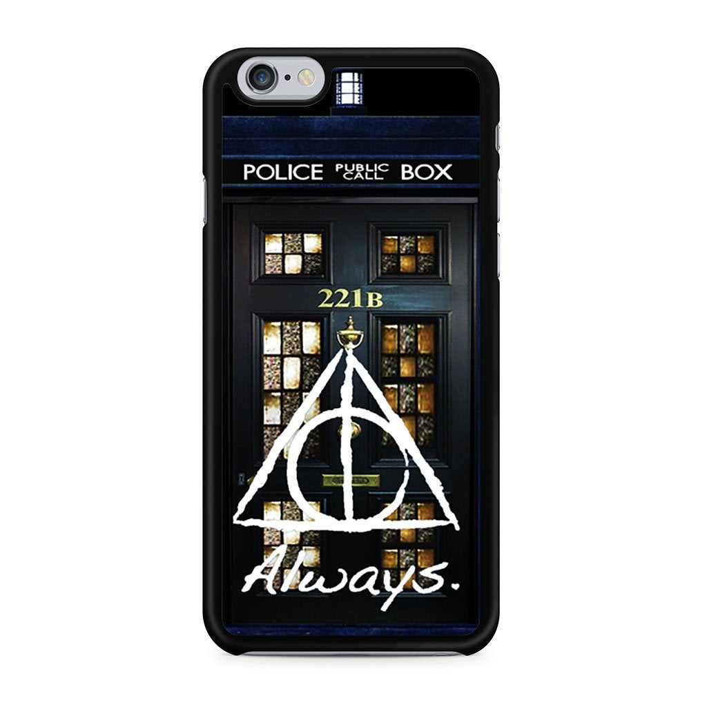 Always Harry Potter Doctor Who Sherlock Holmes iPhone 6 Case