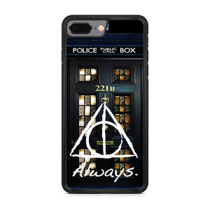 Always Harry Potter Doctor Who Sherlock Holmes iPhone 8 Plus Case