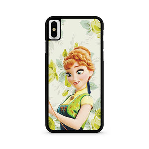 Anna Frozen Floral iPhone XS Case