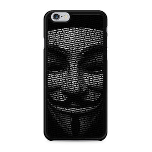 Annonymous iPhone 6 Case