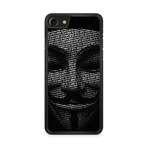 Annonymous iPhone 8 Case