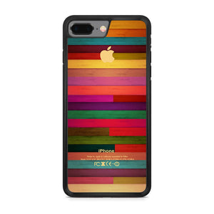 Apple Colorfull Woods iPhone 8 Plus Case