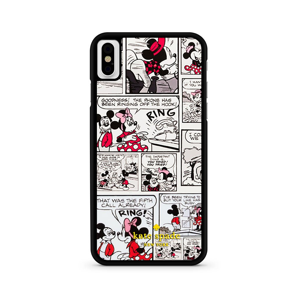 Kate Spade Mickey Mouse Comic iPhone X Case