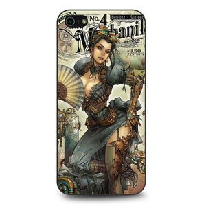 Lady Mechanika iPhone 5 Case