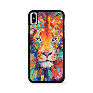 Lion Chevron iPhone XS Case
