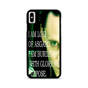 Loki Quote iPhone XS Case