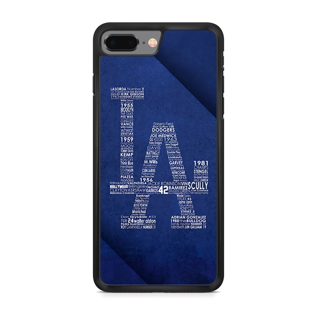 Los Angeles Dodgers iPhone 8 Plus Case