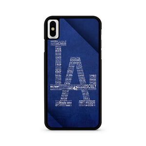Los Angeles Dodgers iPhone XS Max Case