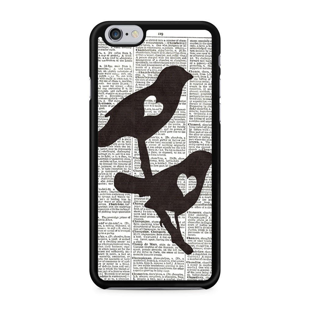 Love Bird Book iPhone 6 Case