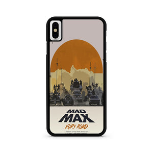 Mad Max Poster iPhone XS Case