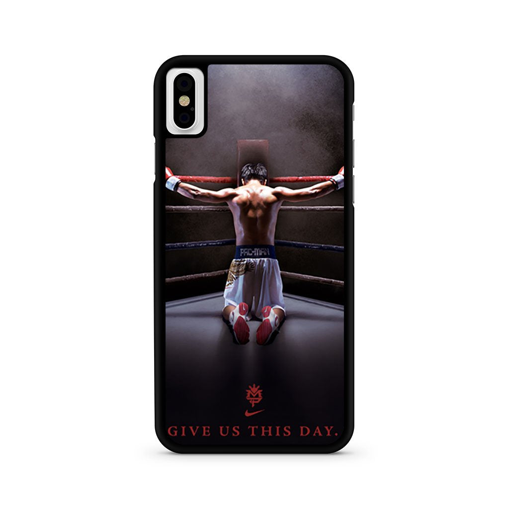 Manny Pacquiao Pac Man iPhone X Case