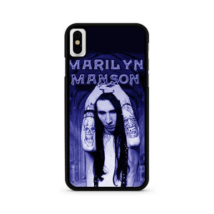 Marlyn Manson iPhone XS Max Case