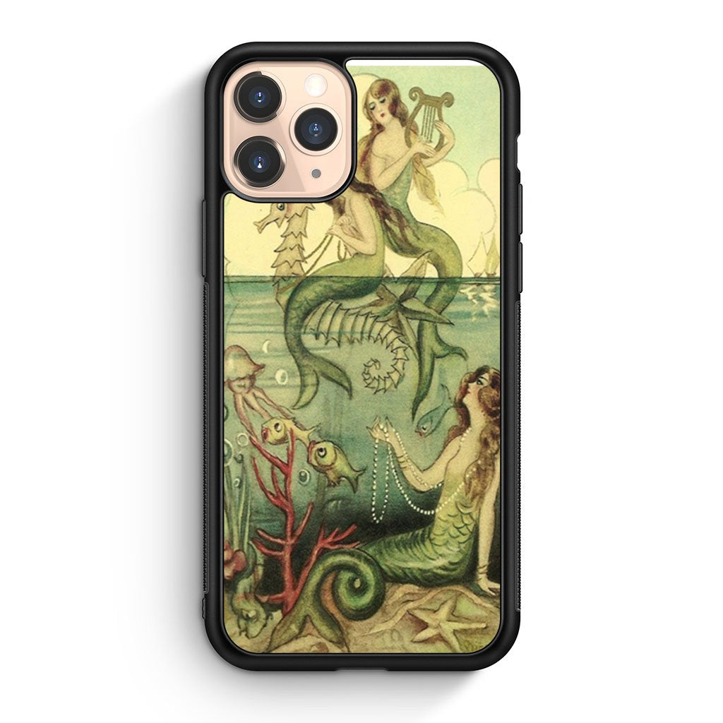 Mermaid Art iPhone 11 Pro Case
