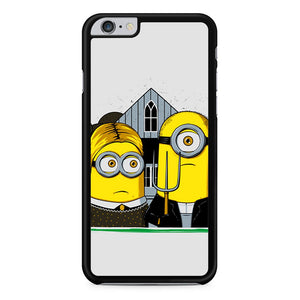 Minion Potrait iPhone 6 Plus Case