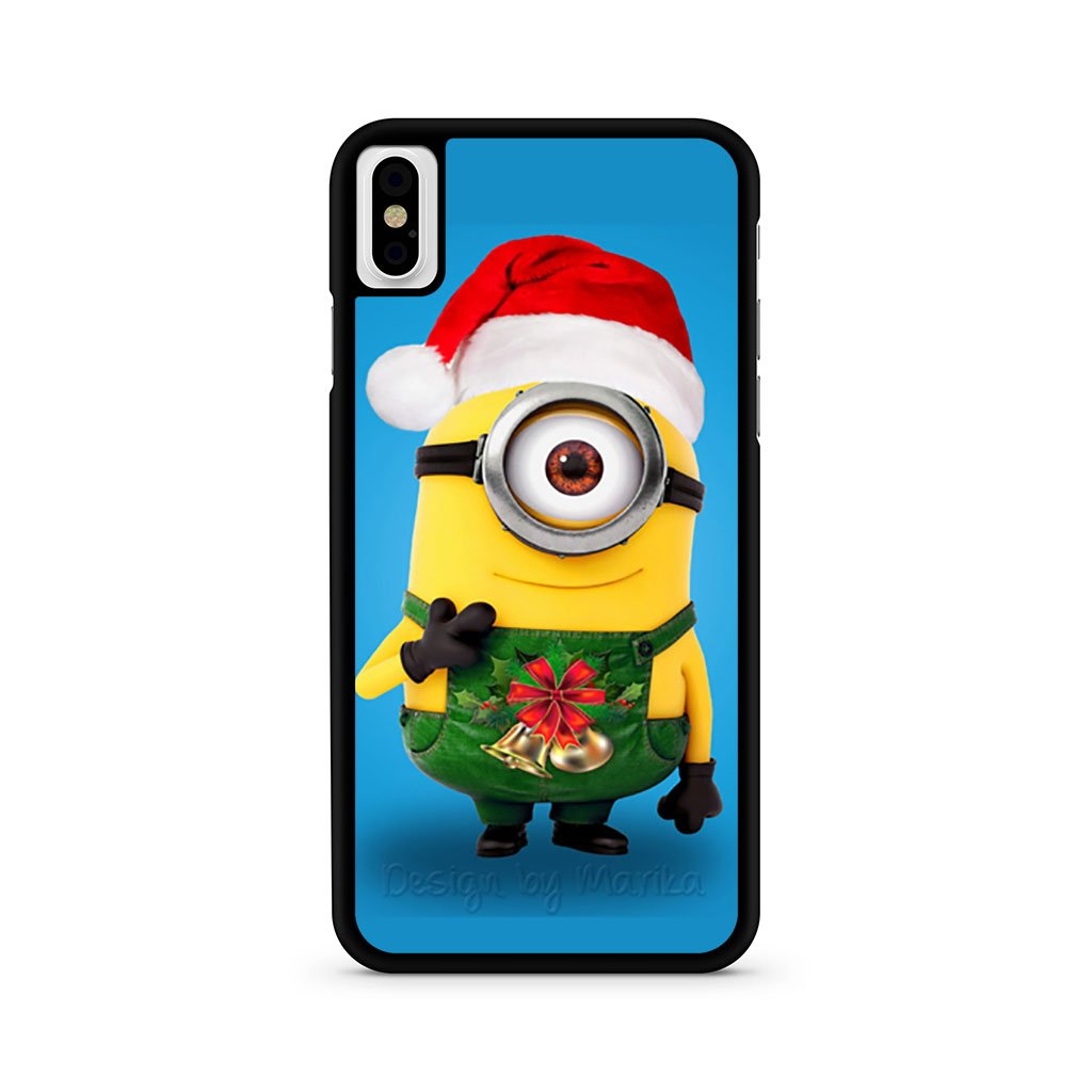 Minion Santa iPhone XS Max Case